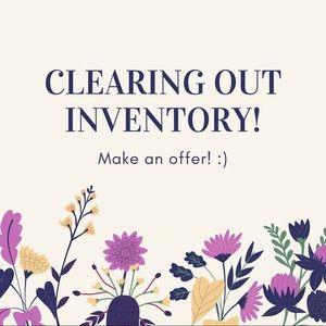 Everything must go! Make an offer & get a deal ❤️